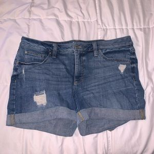 A.N.A denim shorts